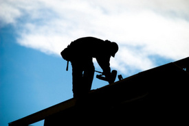 Worker Blown From Roof in Gusty Winds at Pulaski Construction Site