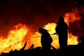 Firefighter injured in York rowhome 3-alarm blaze