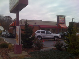 Four injured after SUV crashes into Needham doughnut shop