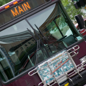 Baltimore Maryland Bus Crash: MTA bus hits parked cars, 4 injured