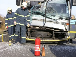 Charter Bus Crashes on Route 80 in New Jersey; 3 Injured