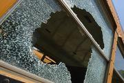 7 injured when truck struck school bus
