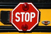 New Hampshire school bus hit by pickup truck, 8 injured