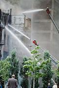 Maryland firefighter, 9 residents injured in Greenbelt apartment blaze