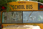 Three injured in school bus crash, transported by Mercy Flight helicopter