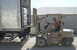 Construction Accident News: Worker killed by forklift
