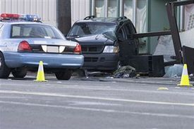 NYPD car collision near Biden motorcade in Manhattan injures 4