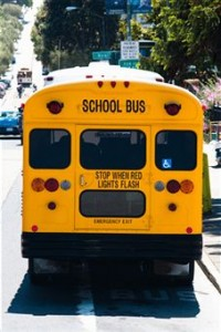 Pennsylvania school bus collides with garbage truck injuring a 6-year-old