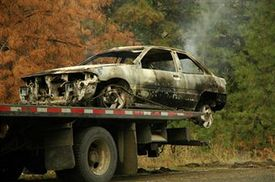 Fiery wreck killed one woman on New Jersey Turnpike