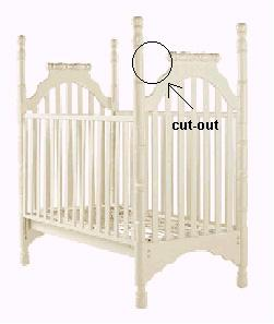 Product Liability Notice: LaJobi cribs recalled due to stragulation danger