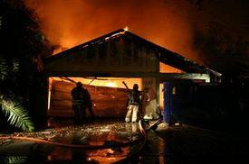 Firefighter injured at N.J. garage explosion!