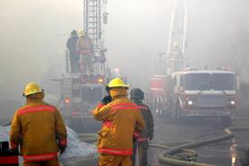 Montclair Firefighter injured at Jersey condo blaze