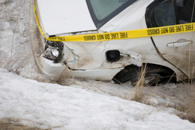 Motor Vehicle Accidnet News: 2- car crash hospitalized 2, killed 1