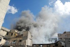 Firefighter injured in 2-alarm C.T. apartment blaze