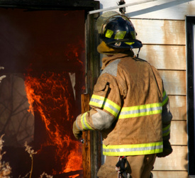 C.T. firefighter electrocuted in cottage blaze!
