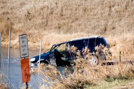 SUV Rollover crash claims 22-year-old's life