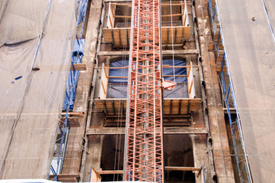 NJ construction worker falls 16–feet from scaffold