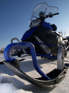 NY snowmobile collision hospitalizes police officer