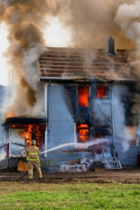 Firefighter injured in New Jersey fire