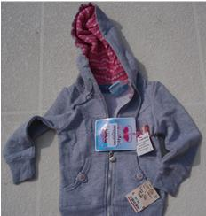 Girls' Hooded Sweatshirts with drawstrings recalled due to Strangulation Hazard