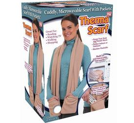 Scarves with microwaveable heat packs recalled