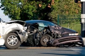 Prince George Maryland automobile accident: 7 people hurt after 4-vehicle crash