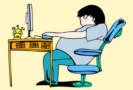Desk Jobs Could be Helping You Pack on the Pounds, Driving Obesity Issue