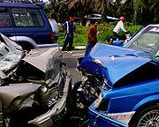 Massachusetts motor vehicle accident report – Fiery crash kills passenger, driver survives!