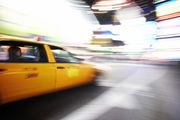 NYC Taxi Cab Accident – New York taxi passenger attempts to choke driver
