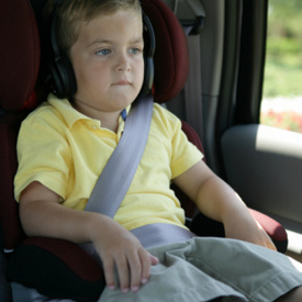 Study: Child Booster Seat Used Less in Carpools