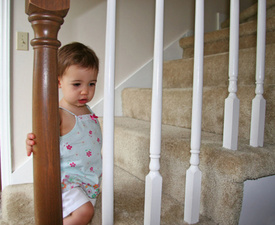 Every 6 Minutes a Child is Hurt on Stairs