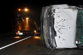 Prison Transport Van Crash in Altona Injures 7