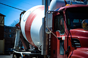 SUV collides with truck carrying liquid concrete killing 2