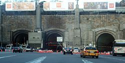 Two-Bus Crash Near Lincoln Tunnel, 20 Injured