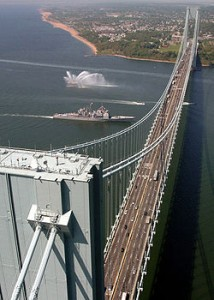 New York trucker crashes into Verrazano-Narrows Bridge toll booth