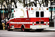 FDNY rescues man trapped under truck