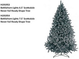 CPSC: Artificial Christmas Trees by Bethlehem Lights Recalled for Fire Risks