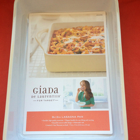 CPSC, Target Recalls Giada De Laurentiis Lasagna Pan for Laceration Hazards
