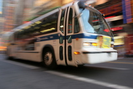 NJ Transit Bus Involved in Accident in Hackensack; 4 Injured