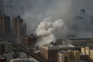 New York City Building Explosions Over Time